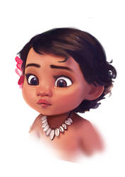 Baby Moana by BunnyQueenT
