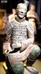 Terracotta Army. Archer by Gienah95