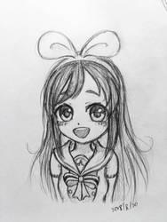 Kizuna AI doodle by summilly