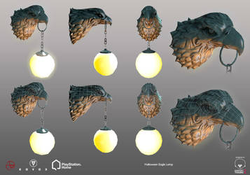 Halloween Eagle Lamp - PSHome by Denuvyer