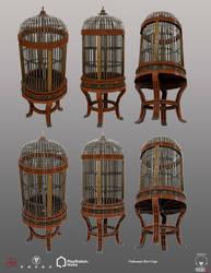 Halloween Bird Cage - PSHome by Denuvyer
