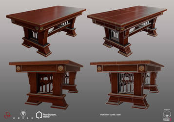 Halloween Gothic Table - PSHome by Denuvyer