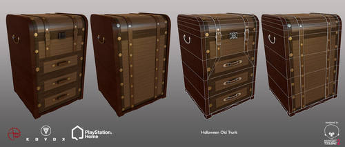Halloween Old Trunk - PSHome by Denuvyer