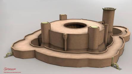 Bellver Castle 02 - Animartec GoT by Denuvyer