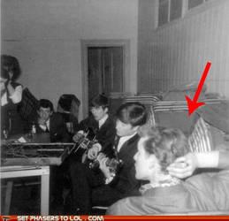 Doctor met the Beatles by necrolichmon