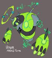 PKMN Uranium: Urayne Altered Form Concept by Midnitez-REMIX