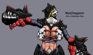 Digimon World MV: WereOmegamon by Midnitez-REMIX