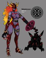 Babylomon Re-Design by Midnitez-REMIX