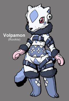 Digimon Era Zero: Volpamon by Midnitez-REMIX