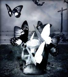 Winged Death by Fleurine-Retore
