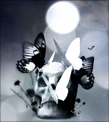 Winged Death 2 by Fleurine-Retore