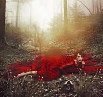 Bad Little Red Riding Hood by Fleurine-Retore