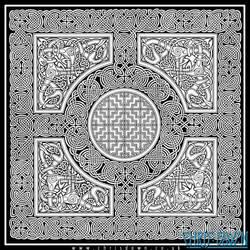 Lindisfarne Knots by Dysis23A