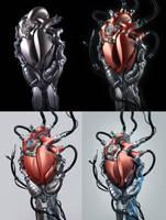 Heart_variation by AleksCG