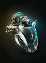Heart Engine A by AleksCG