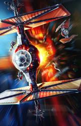 TIE Fighter///StarWars by AleksCG