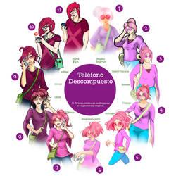 Telefono descompuesto #3 by DragonsAnatomy