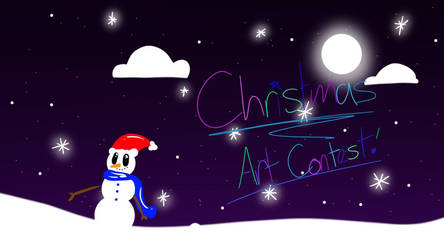 Christmas Art Contest by SeleidyDoesArt