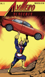 Action Comics #1: All-Might by timberking
