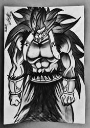 Devil Saiyan Cunber by s3rd4rclub
