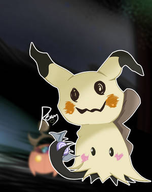 Pokemon: Mimikyu - Halloween Night by Revy-oli