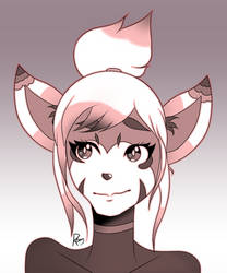 Tal Portrait [Commission] by Revy-oli
