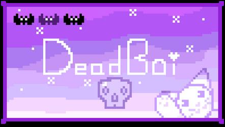 F2U Pastel Goth Dead Boi Stamp Pixel Art by Revy-oli