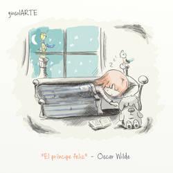 The happy prince - Oscar Wilde by giosolARTE