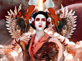 Geisha's Blessing by keekoo