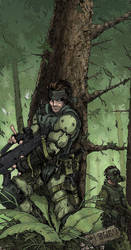 SolidSnake Stealthy Forest Ops by keekoo