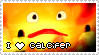 HMC Stamp Series - Calcifer by mello-sama