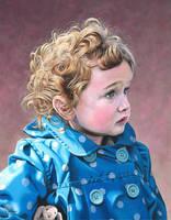 Portrait of a child by NewAgeTraveller