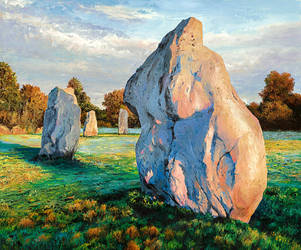 Avebury Stone Circle by NewAgeTraveller