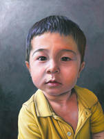 Portrait of a Boy by NewAgeTraveller