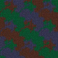 Tricolor Pipe Maze by Dermot