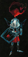 Artur - Goblin Knight by JohnPohlman
