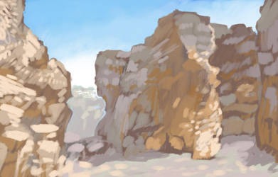 Environment sketch 5 by JohnPohlman