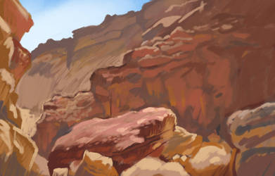 Environment sketch 7 by JohnPohlman