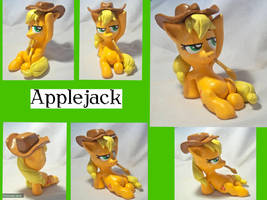Applejack Sculpture by CadmiumCrab