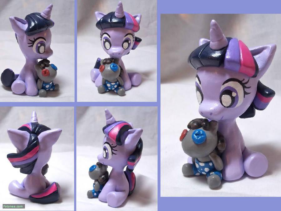 Filly Twilight Sparkle Sculpt by CadmiumCrab