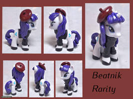 Beatnik Rarity Custom Toy by CadmiumCrab