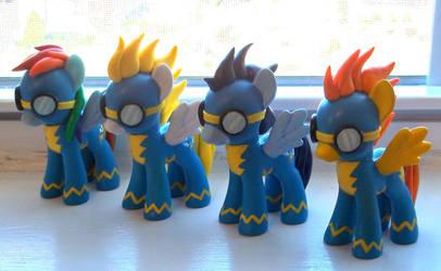 Wonderbolts Assemble! by CadmiumCrab