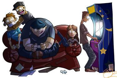 Gamers Garage by annorekto