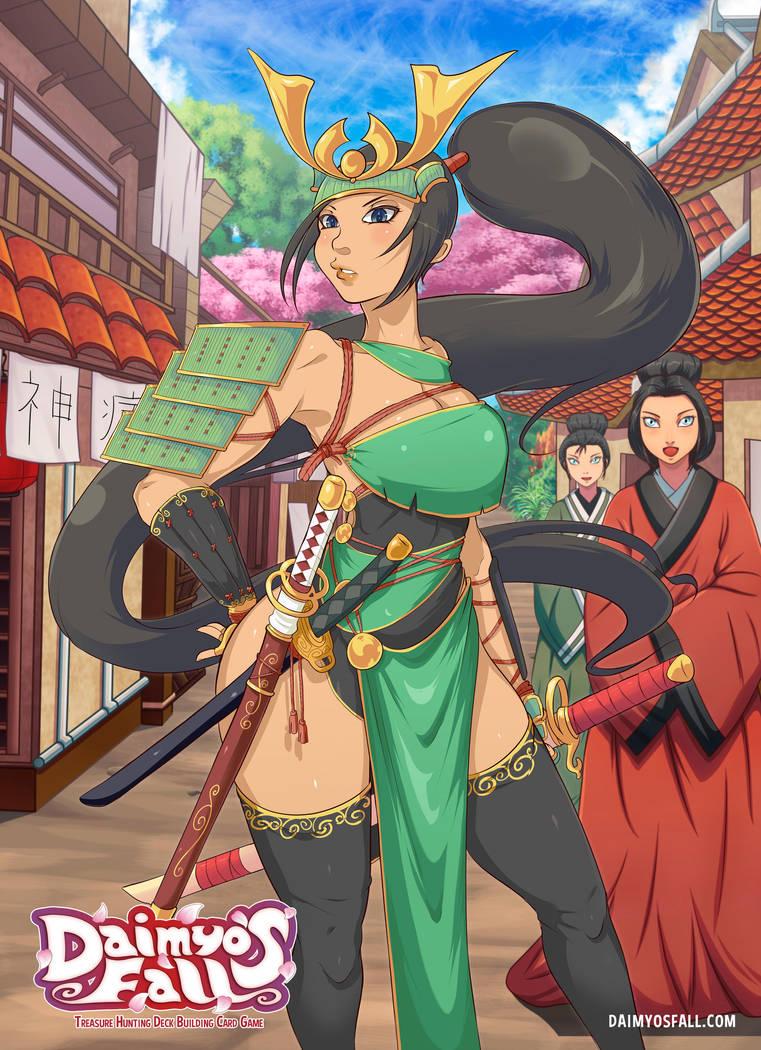 Katsumi Tokugawa - Alternate Suit by TirNaNogIndustries