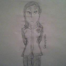Alara Kitan Sketch by MoonlitFlames