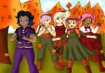 DA-Fall Into Fun by Animecolourful