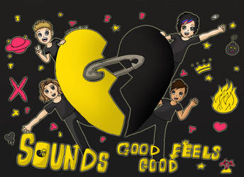 Three Years of Sounds Good Feels Good by Animecolourful