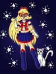 Sailor V! by Animecolourful