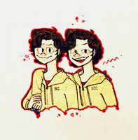 Bill and Ben by JazzStillNeedsALife