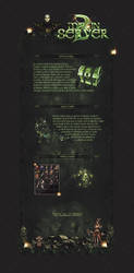 Metin2 Description / Dark Green Theme by MayasOldPenguin
